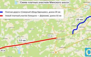 Реконструкция Минского шоссе от Голицыно до Кубинки