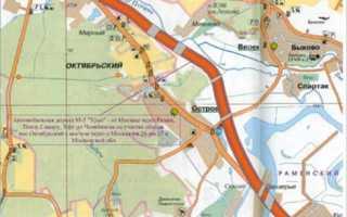 Строительство дороги в обход Октябрьского и Островцов