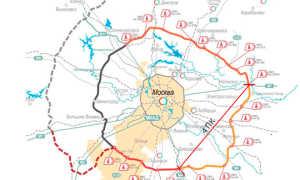 ЦКАД 4 пусковой комплекс, открытие, схема, карта