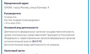 Состав, руководство и реквизиты РосАвтоДор