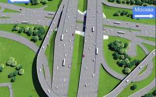 Развязка и реконструкция на Волоколамском шоссе